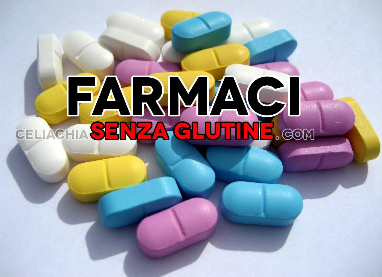 I farmaci sono tutti senza glutine?