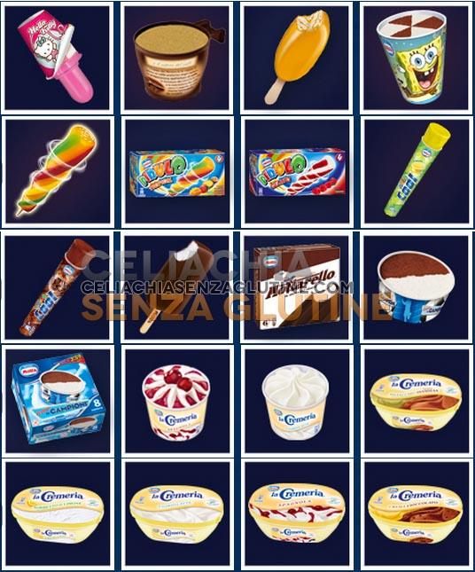 gelati motta senza glutine