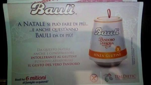 Pandoro Bauli Senza Glutine