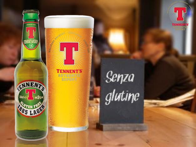 Birra Tennent's Senza Glutine