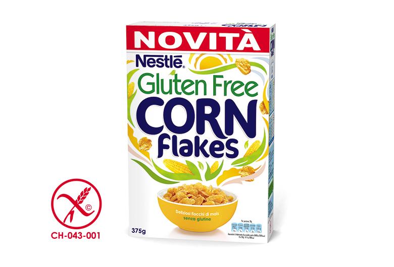 Corn Flakes Senza Glutine Nestlè