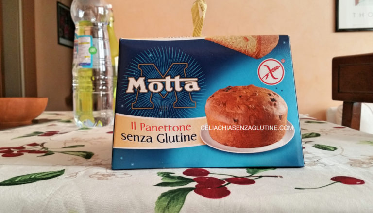 Recensione Panettone Motta Senza Glutine