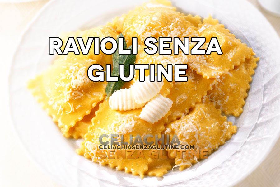 ravioli senza glutine
