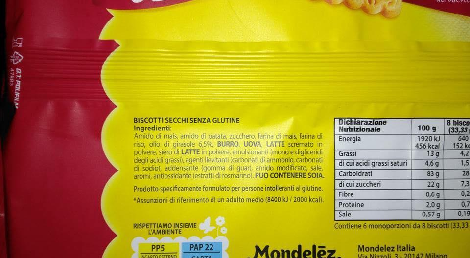 Oro Saiwa Senza Glutine arrivano sul mercato in formato Snack